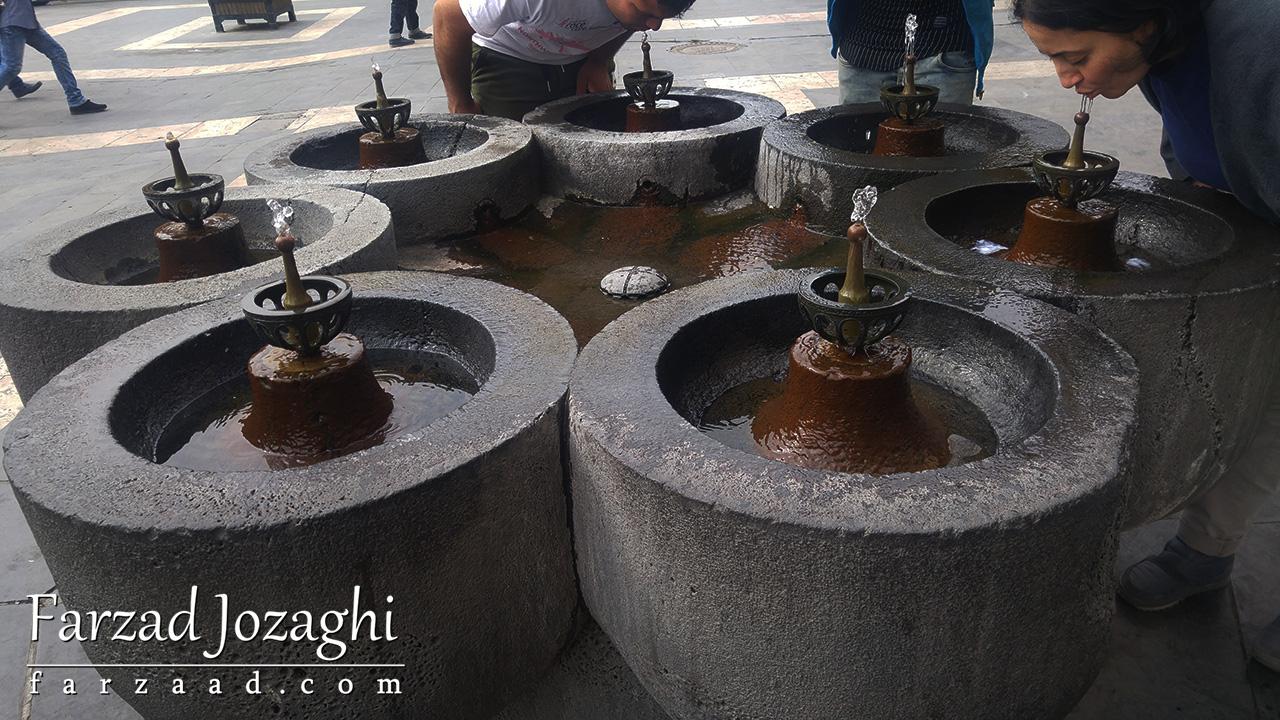 آبخوری های جالب در ارمنستان