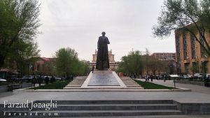 سفرنامه ارمنستان،تجربیات من از سفر به ایروان و تاتو