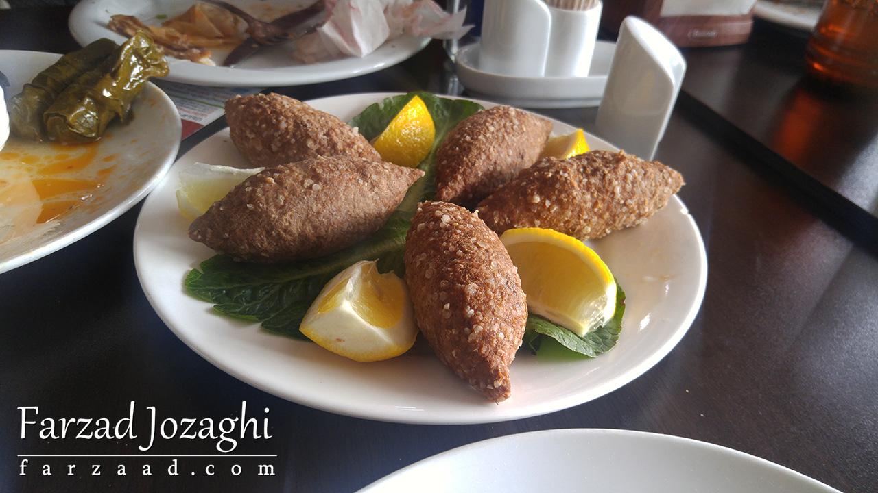 غذای ارمنی که اسمش یادم نیست