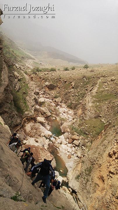 مسیر کوهستانی آبشار شوی