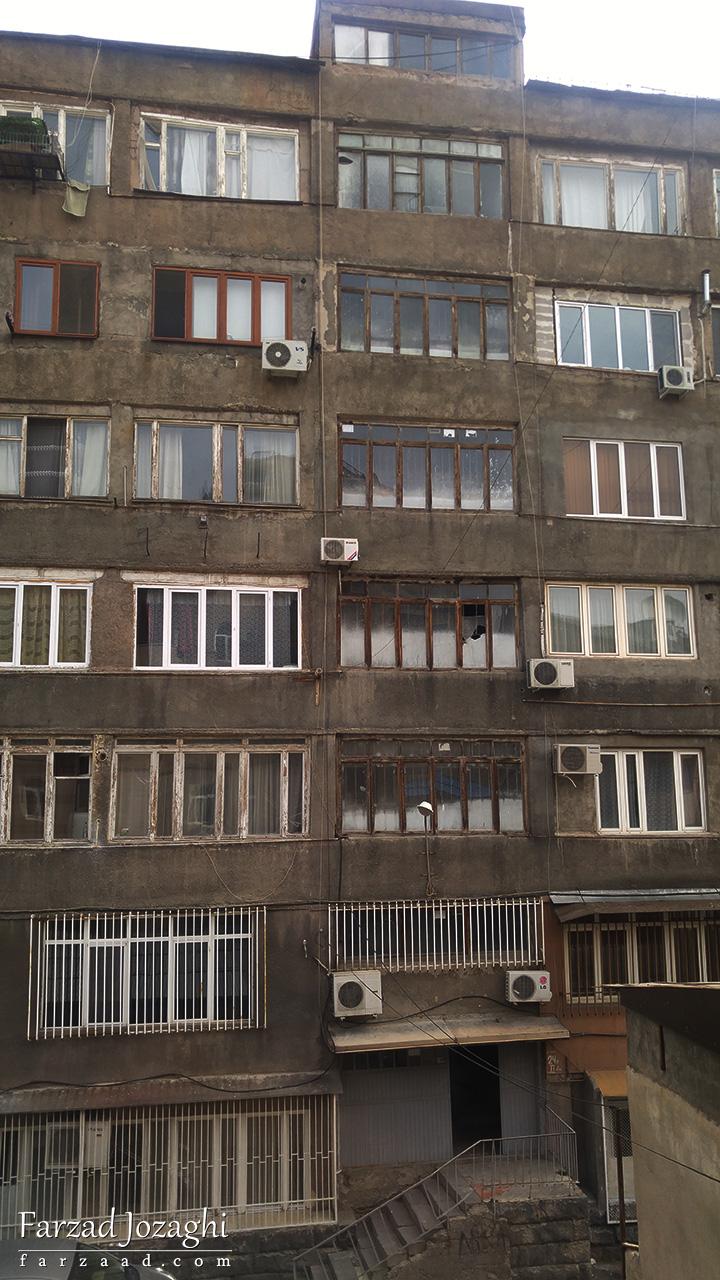 یه ساختمون معمولی توی مرکز شهر ایروان